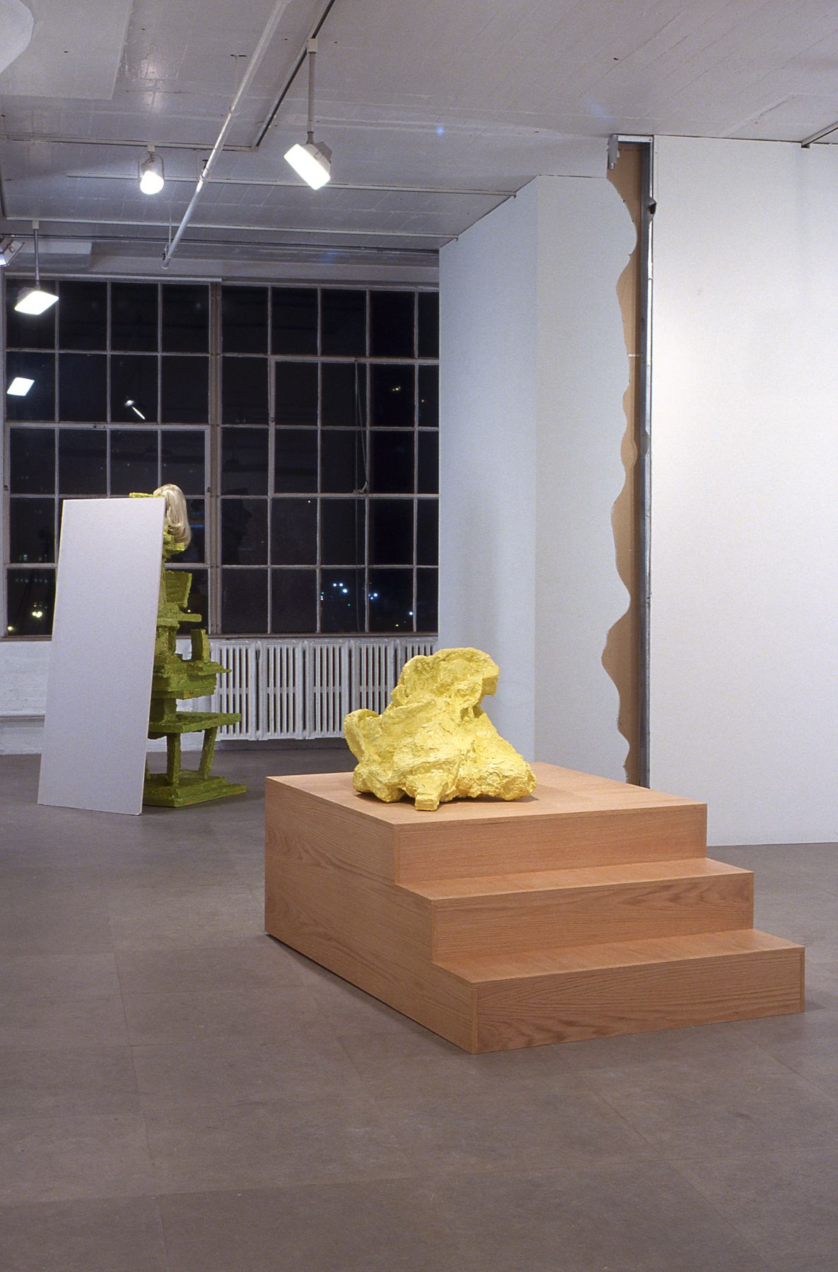 Installation view, Latka/Latkas,  Greene Naftali, New York, 2004