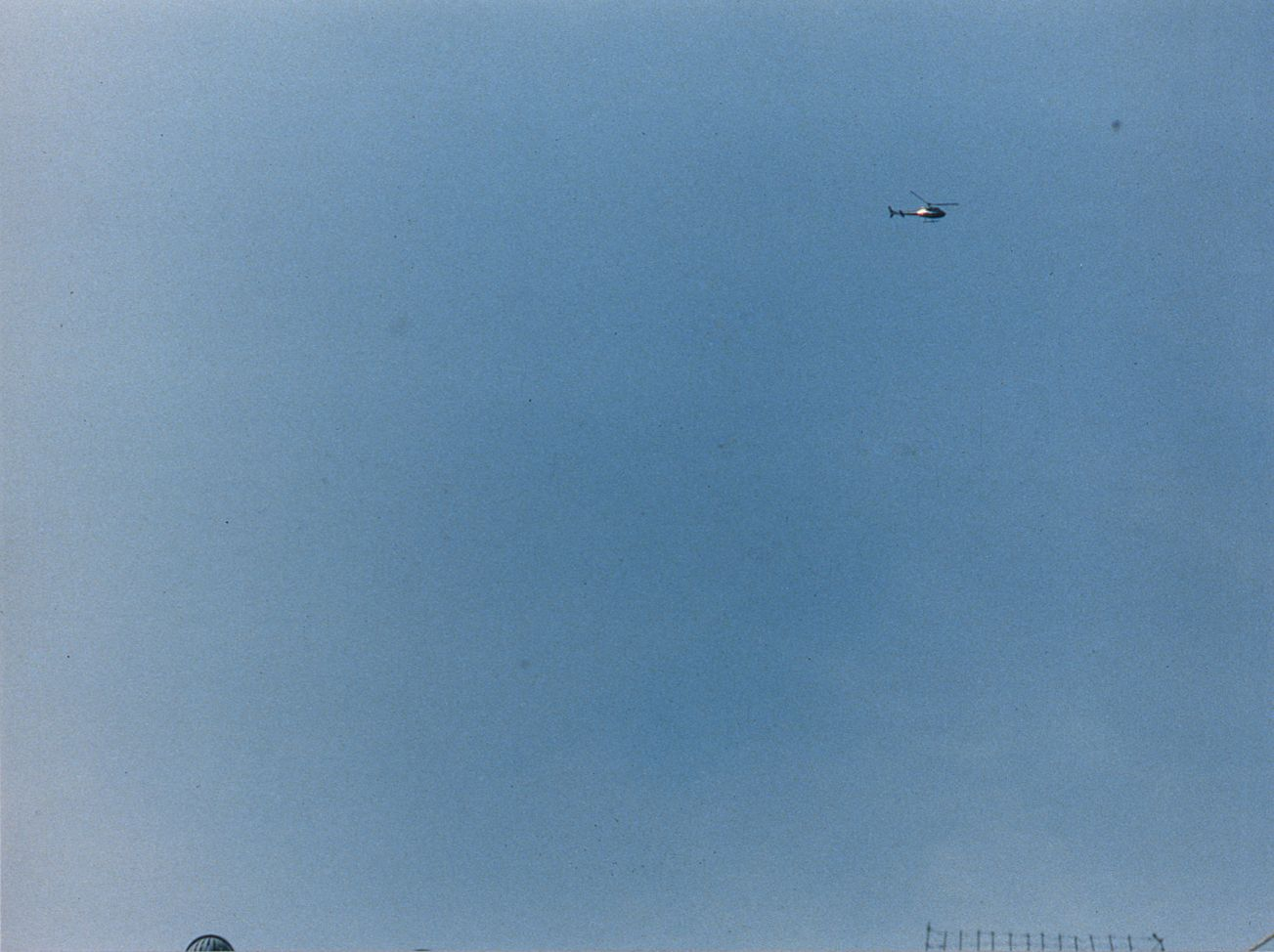 Josephine Meckseper, The Great Escape (Helicopter), 1996, c-print, 30 x 40 inches