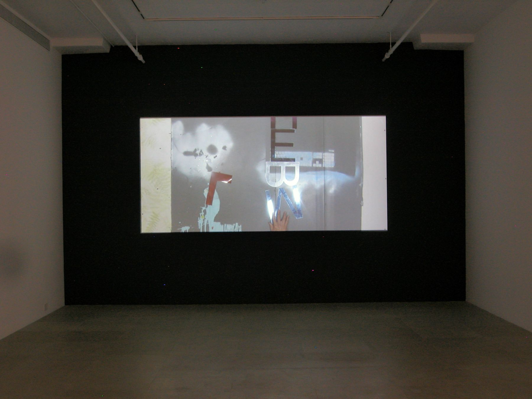 Alex Hubbard, Lost Loose Ends, 2008, Video, 4:08 minutes