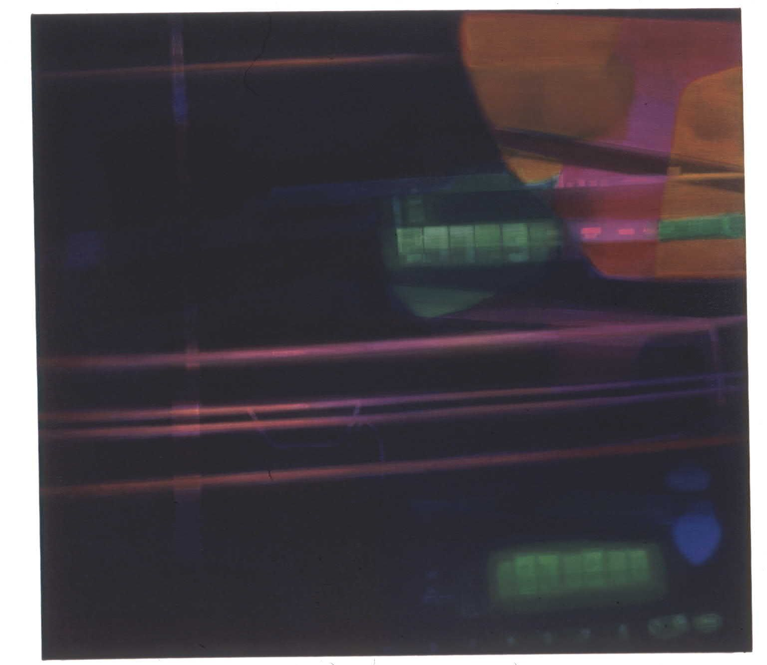 Bain de Sans Soleil II, 2003, Oil on canvas, 42 x 46 inches