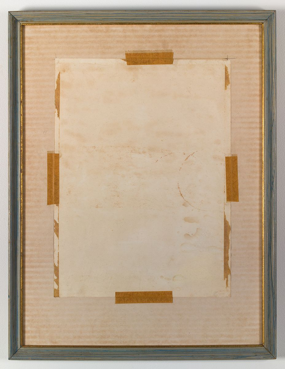 Gedi Sibony, Doric Ions, 2013, Matted artwork reversed in frame, 22 1/8 x 17 inches (56.2 x 43.2 cm)