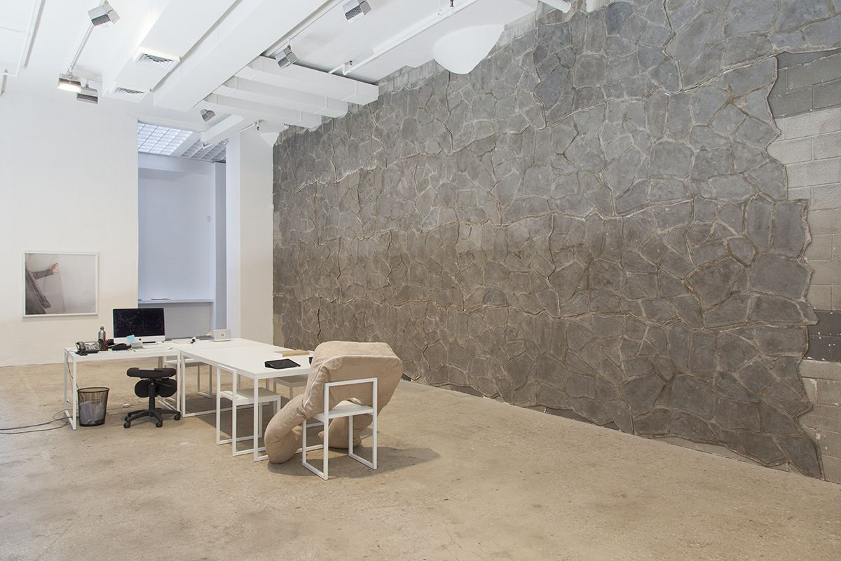 Installation view, For the People of New York City Greene Naftali, New York, 2015