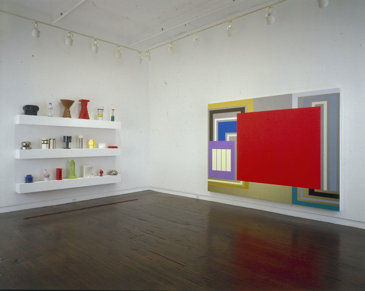 Peter Halley and Ettore Sottsass, Jay Gorney Modern Art, New York, 1995