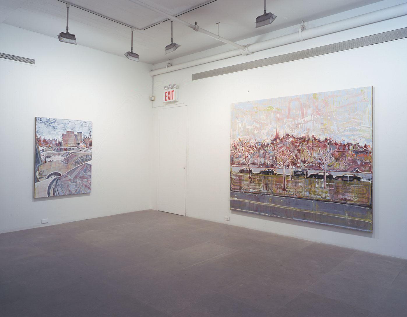 Installation view, David Korty, Greene Naftali, New York, 2001