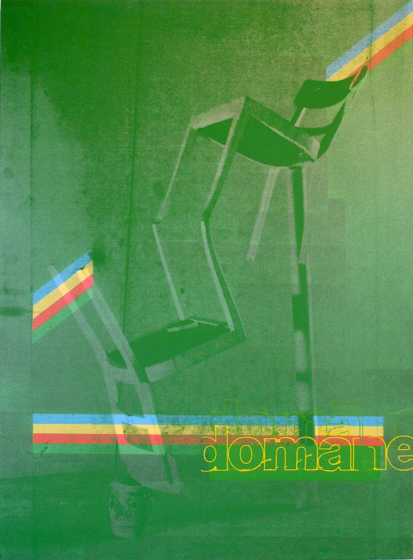 Guyton \ Walker  Untitled (Domane Green Chair) 2005