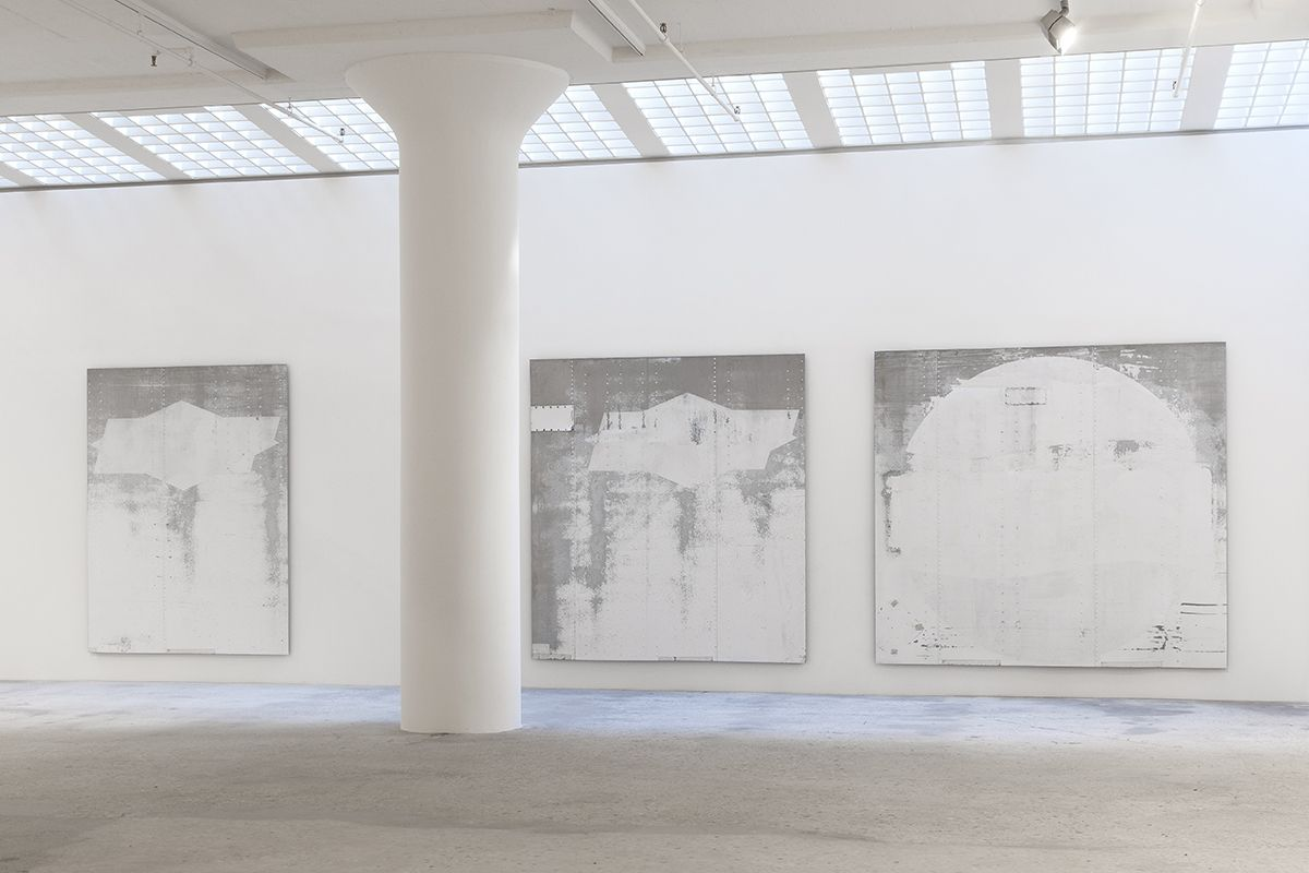 Installation view, Greene Naftali, New York, 2014