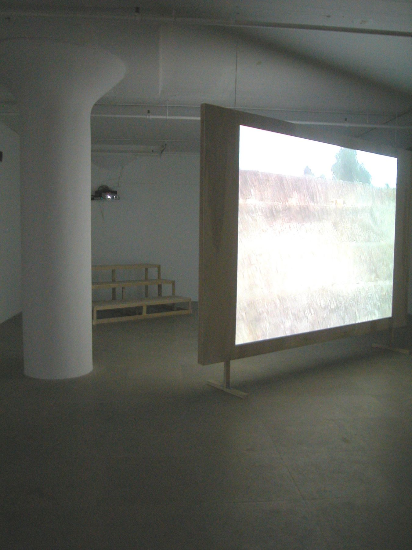 Installation view, Quarry,  Greene Naftali, New York, 2004
