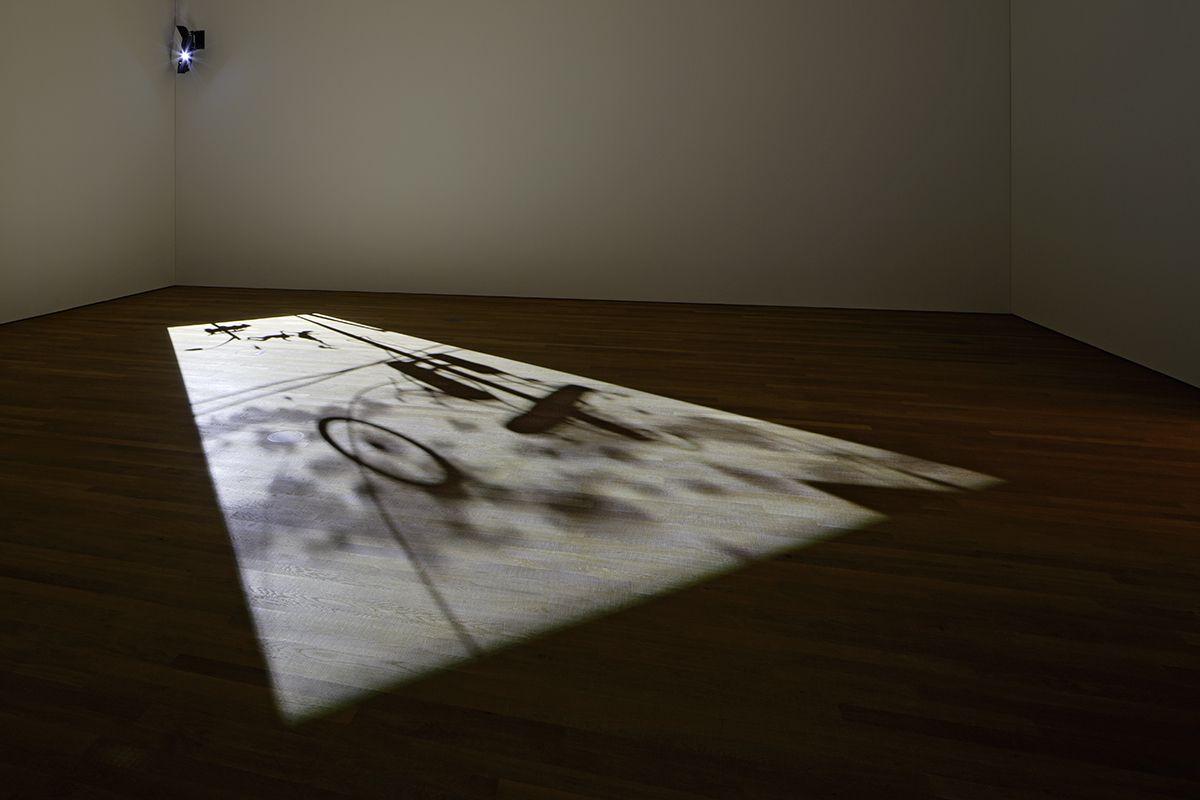 1st Light, 2005, digital video projection