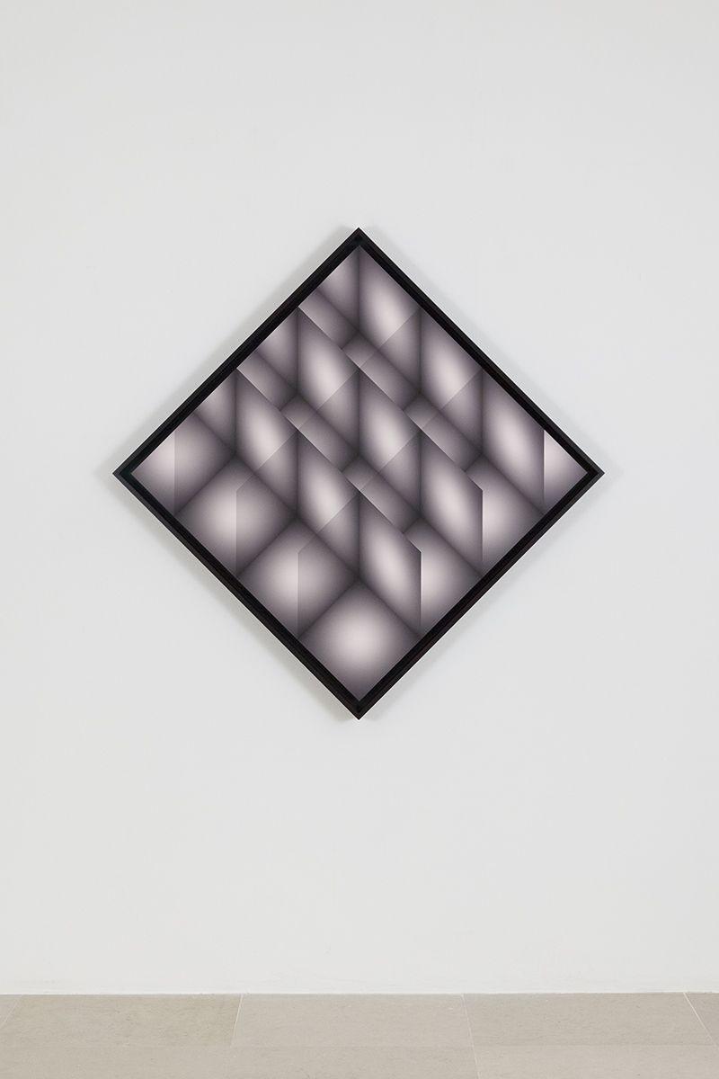 Craig Kalpakjian, Units (render 4), 2017, Inkjet Print, Framed: 37 x 37 inches (94 x 94 cm)