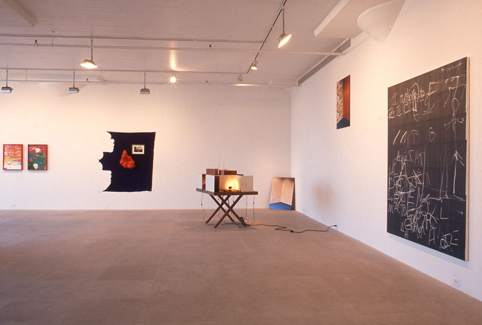 Installation view, Summer Show, Greene Naftali, New York, 1996