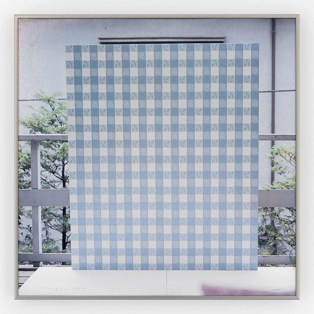Daan van Golden Artist's Studio, Tokyo (blue), 1964 Color photograph, baryta paper  20 1/8 x 20 1/8 inches (51.1 x 51.1 cm)