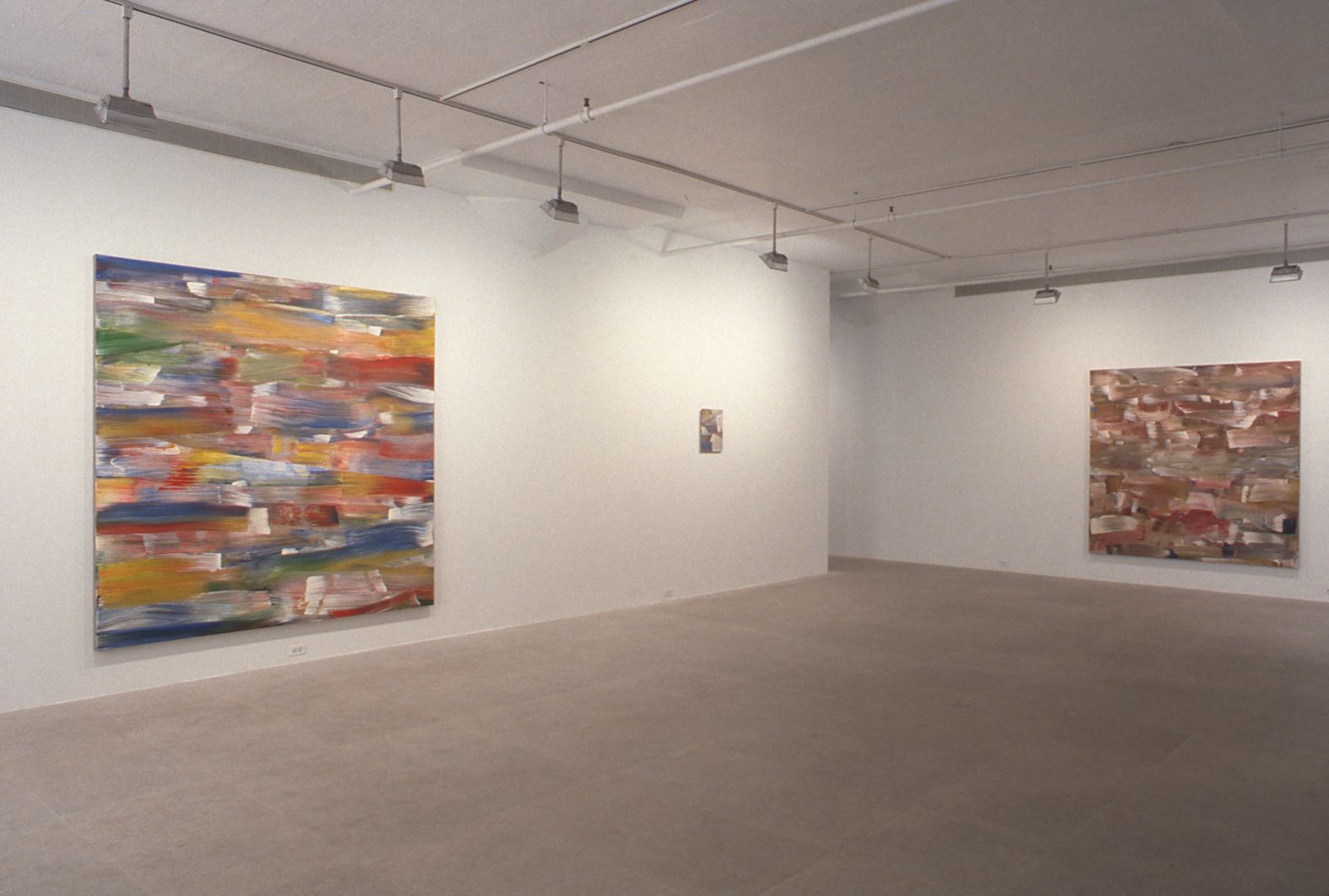 Installation view, Greene Naftali, New York, 1997