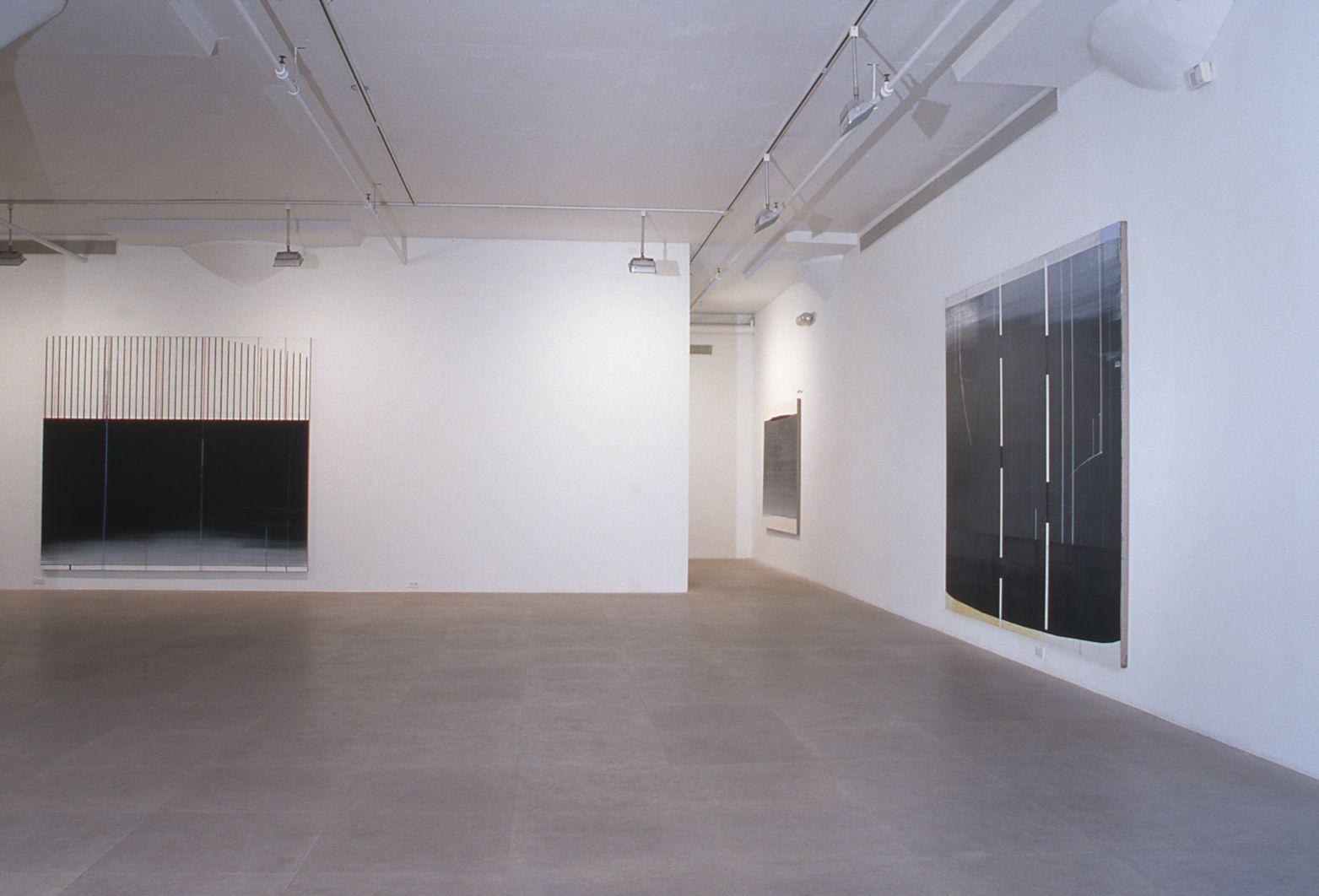 Installation view, Greene Naftali, New York, 1999