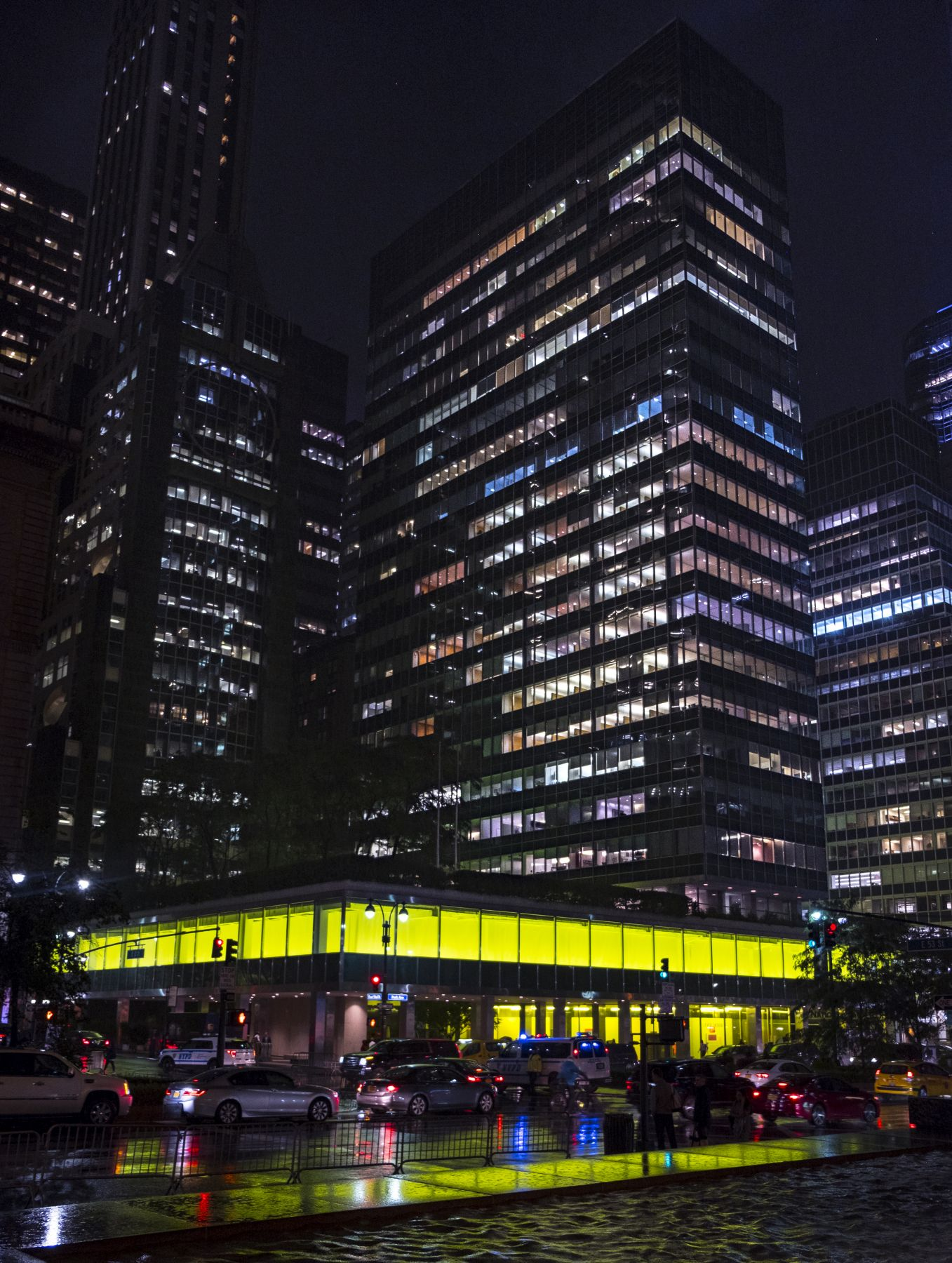 Installation view, New York, New York, Lever House, New York, 2018