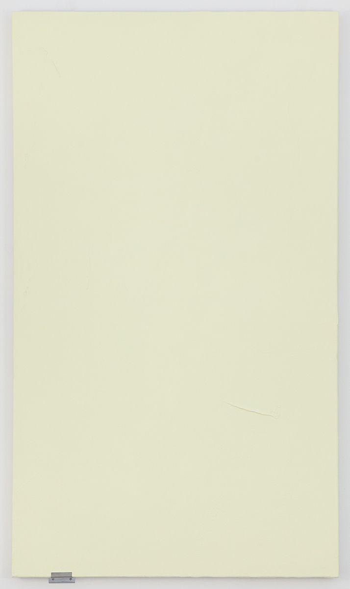 Monika Baer Untitled, 2017 Acrylic and quartz on canvas, aluminum 70 3/4 x 40 1/2 inches (180 x 103 cm)