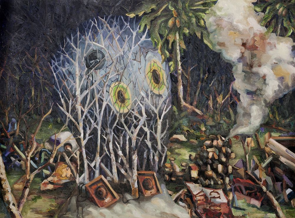 mariano ching forest painting