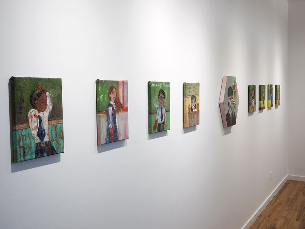 Mariano Ching Danny Licul and Robert Langenegger installation view