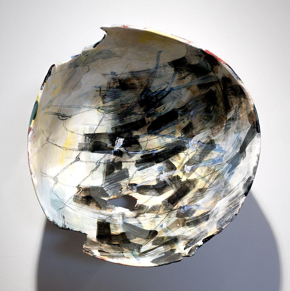 Rachael Gorchov Cast Iron Gate, 2016 Glazed ceramic 14 x 13 1/4 x 7 3/4 in. / 35.6 x 33.7 x 20 cm.