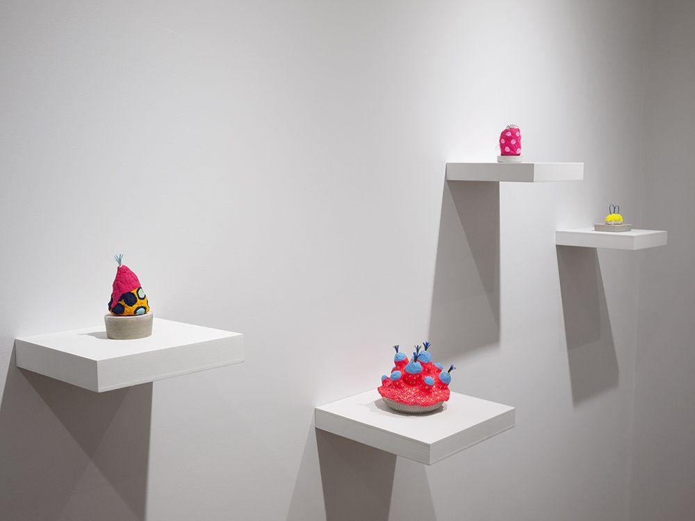 Chiaozza sculpture installation view