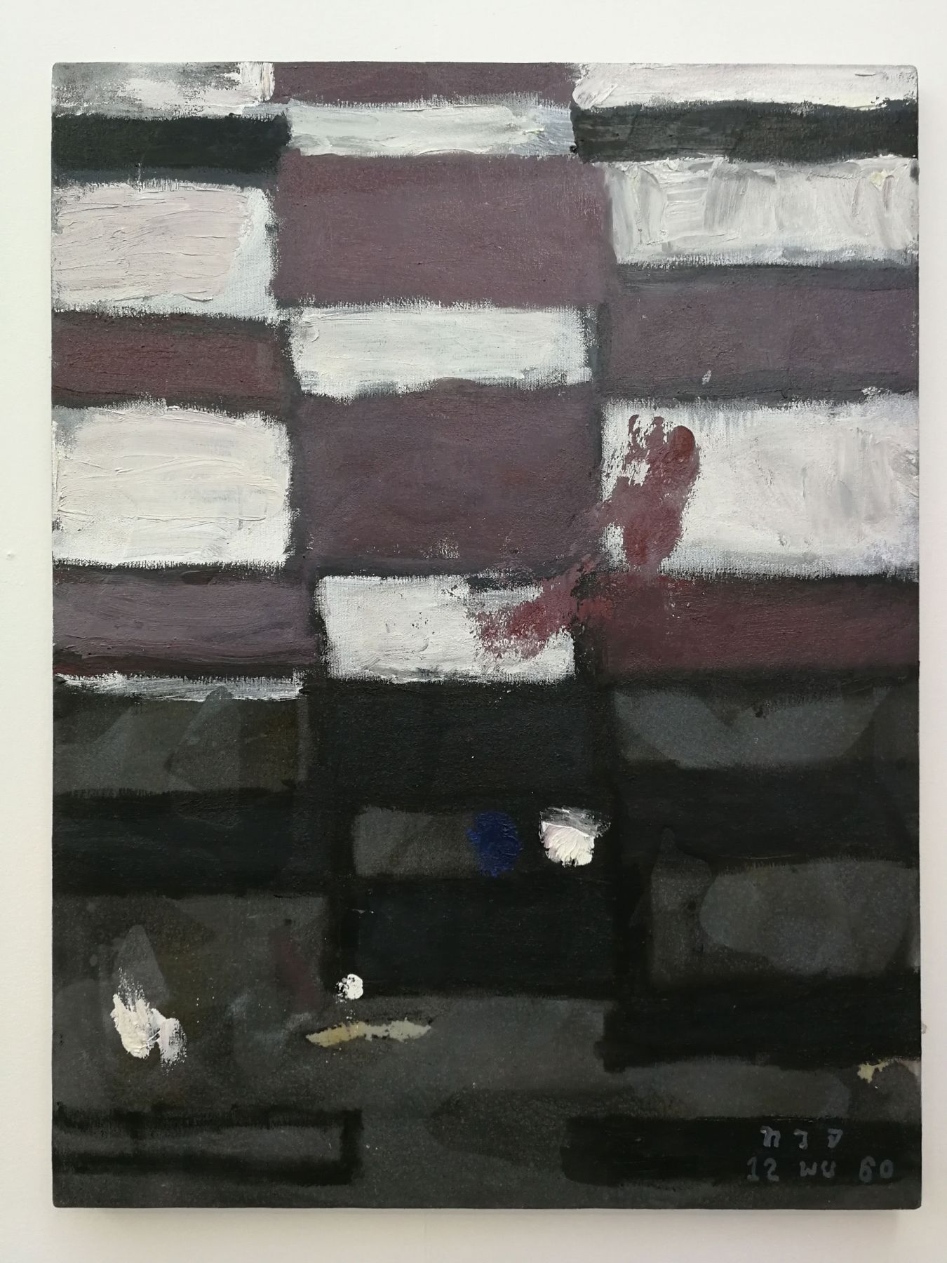 Thaiwijit Puengkasemsomboon Untitled (grid), 2017 28.7 x 21.3 in (73 x 54 cm)