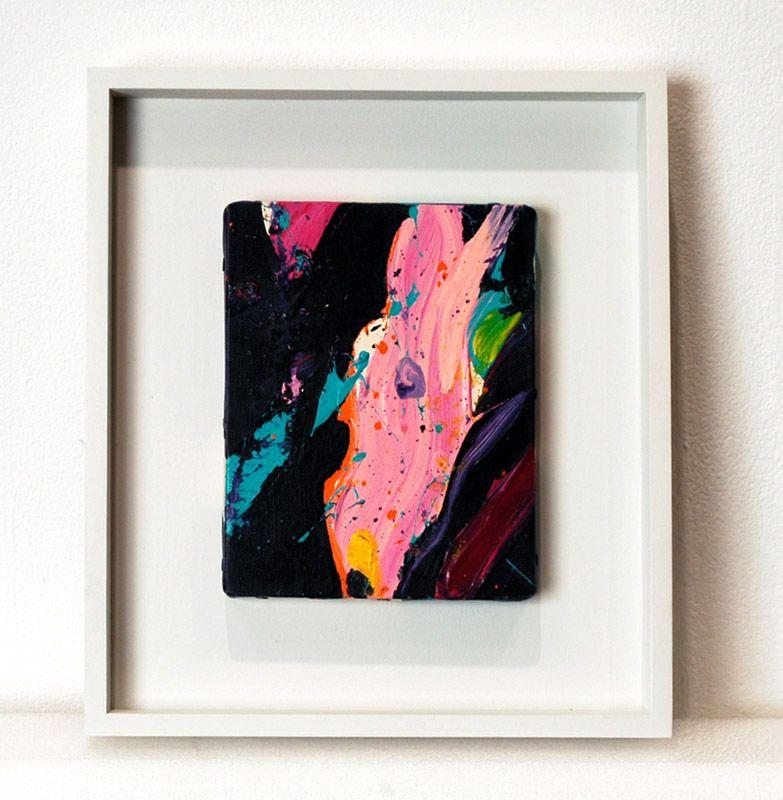 Sam Francis Untitled, 1985 Acrylic on canvas 7 1⁄8 x 5 1⁄2 inches