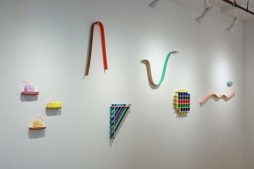 chiaozza wall sculptures installation