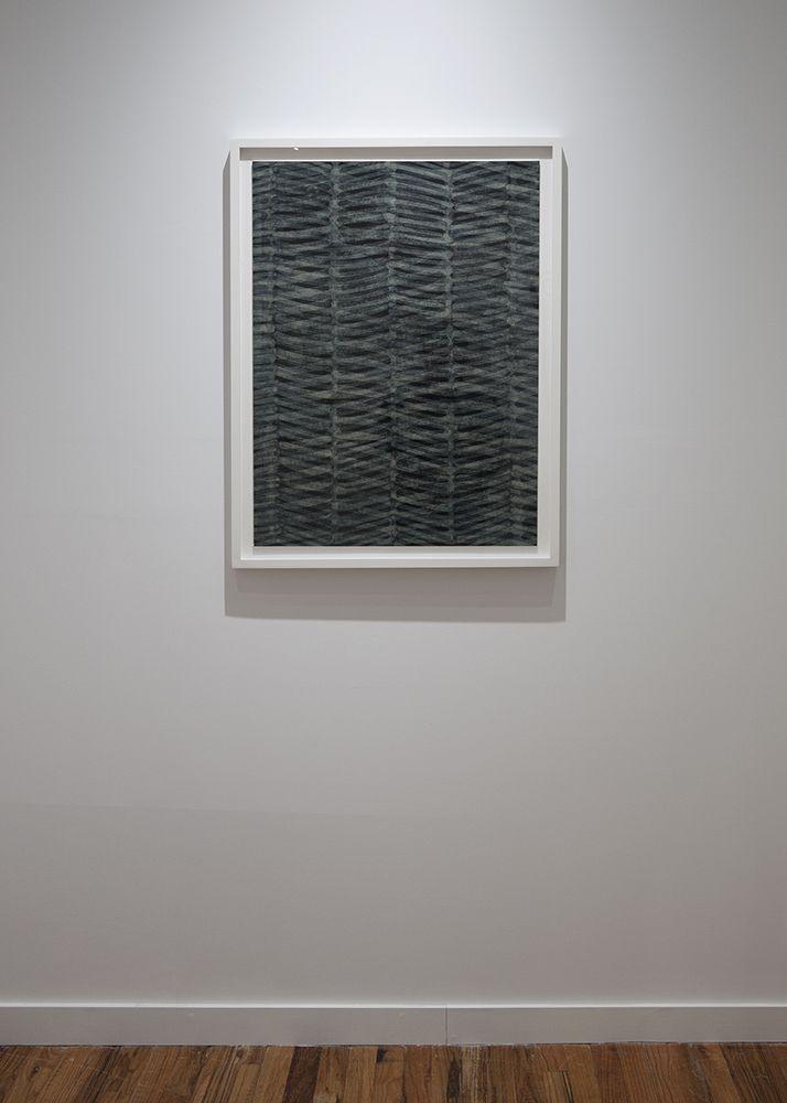 Takuji Hamanaka Japanese woodcut and gampi paper collage exhibition installation