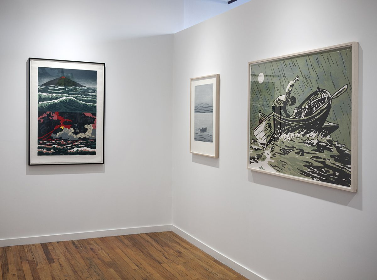 Richard Bosman prints exhibition installation view