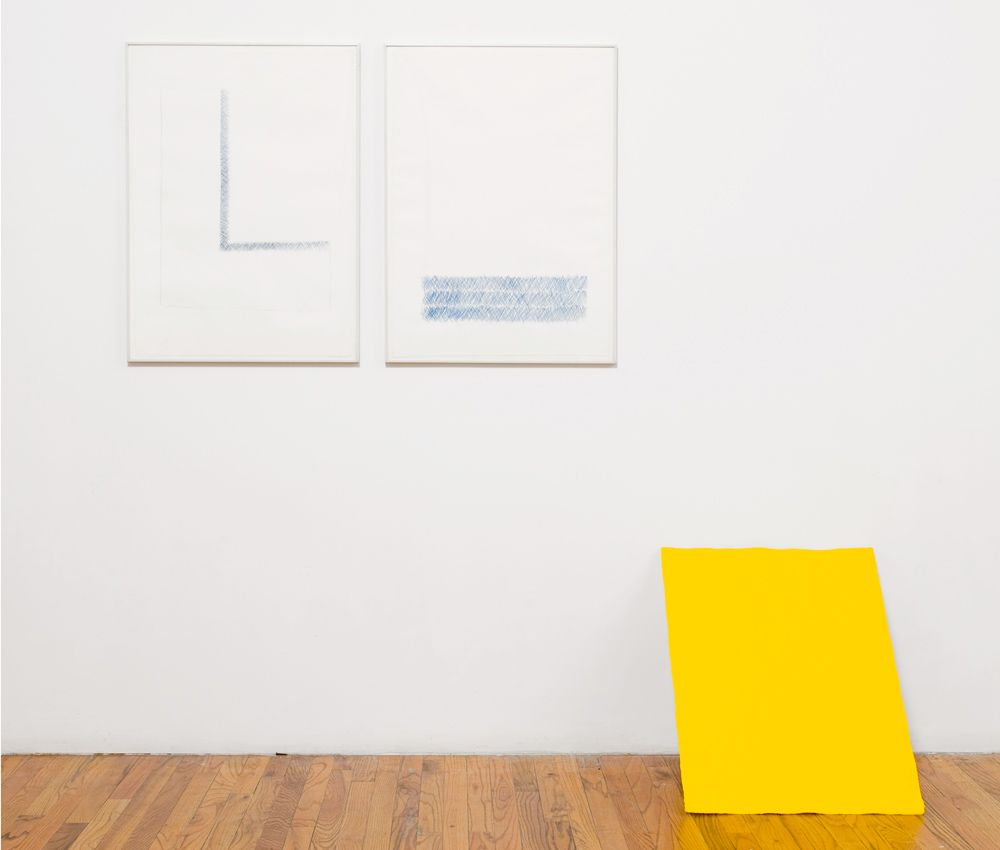Richard Tuttle In Praise of Historical Determinism I, II, III, 1974 Suite of three color lithographs 30 x 22 in. / 50.8 x 55.9 cm. each Edition of 50