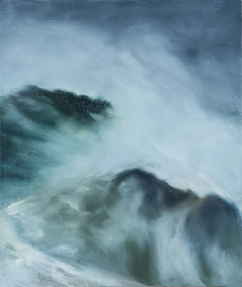 karen marston Crashing Waves, 2015 Oil on linen 42 x 36 in. / 106.7 x 91.4 cm.