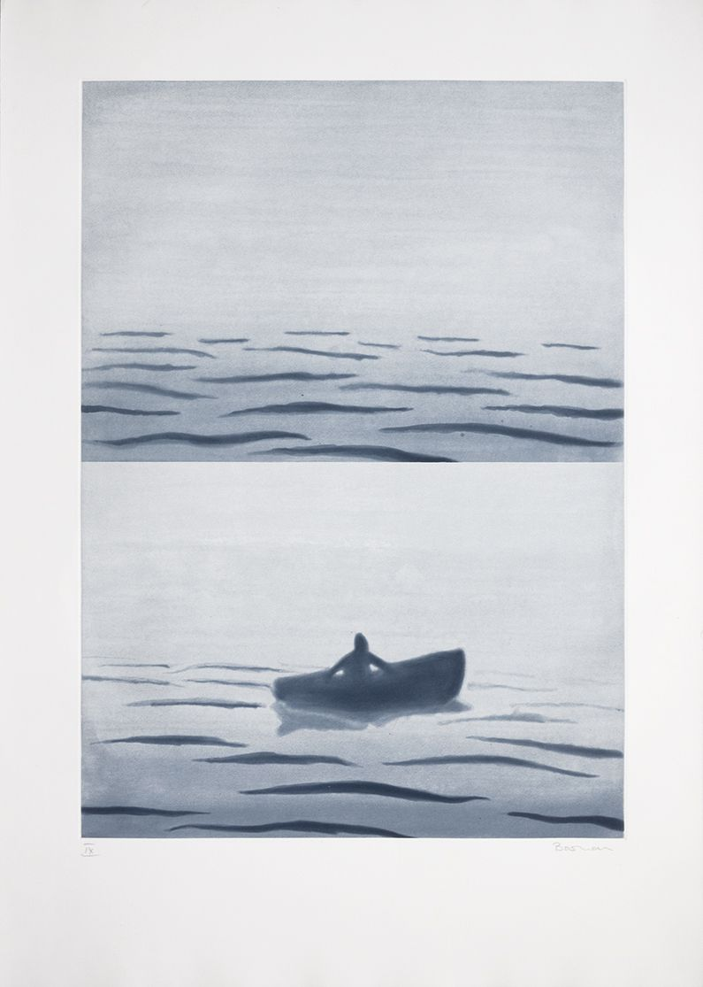 Richard Bosman ​Fog Bank, 1988 Spitbit and aquatint
