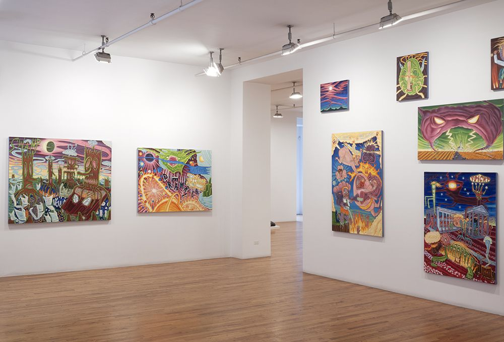 art exhibition installation view