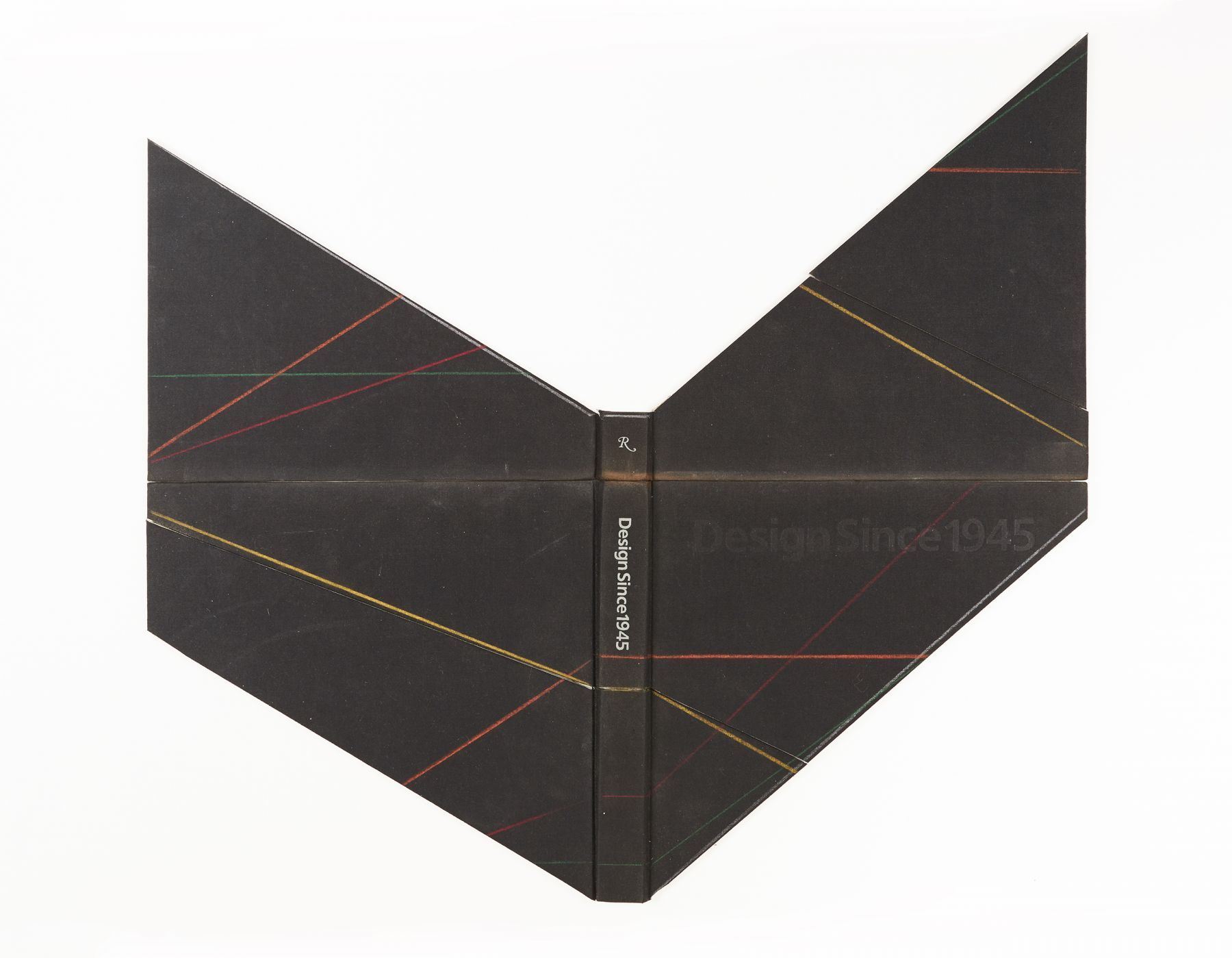 Björn Meyer-Ebrecht Untitled (Design Since 1945), 2017 Found book cover and colored pencil mounted to Museum Board