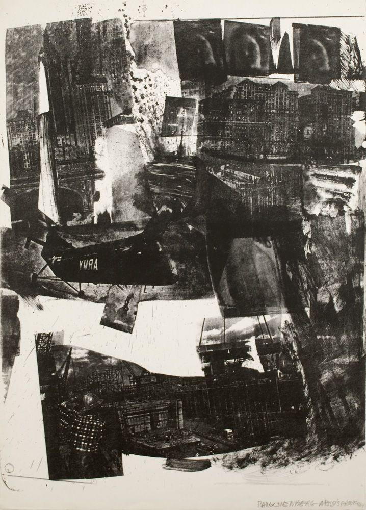 Robert Rauschenberg Spot, 1964 Lithograph 41 1⁄4 x 29 5⁄8 in. / 105.4 x 75.3 cm. Edition of 37