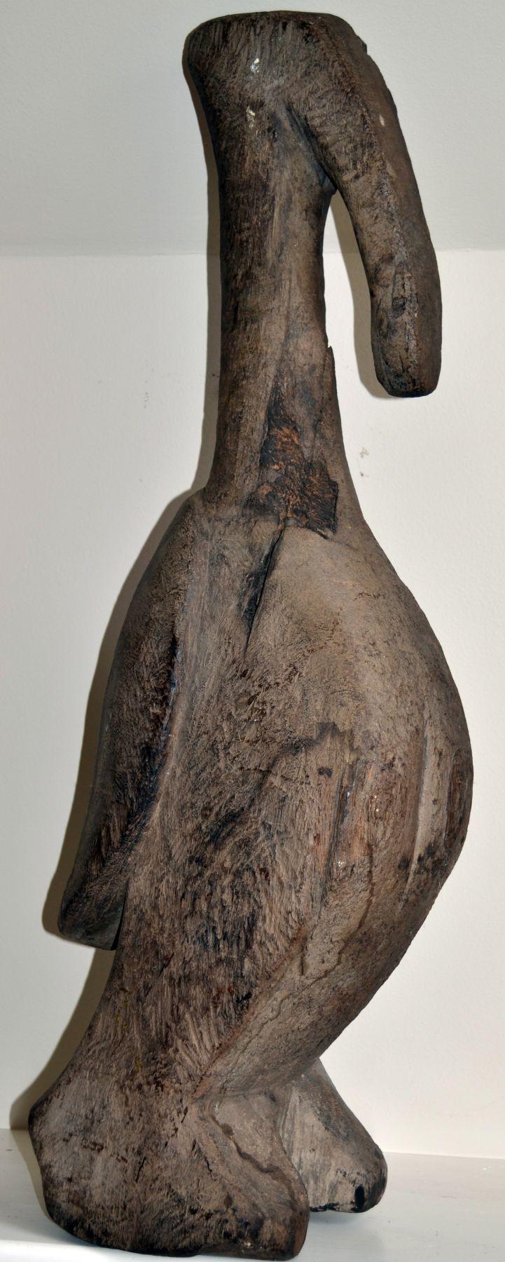 Rite of Passage Hornbill Statue, Mali
