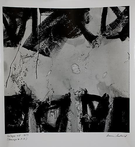 AARON SISKIND  Jalapa 48 (Homage to Franz Kline) 1973