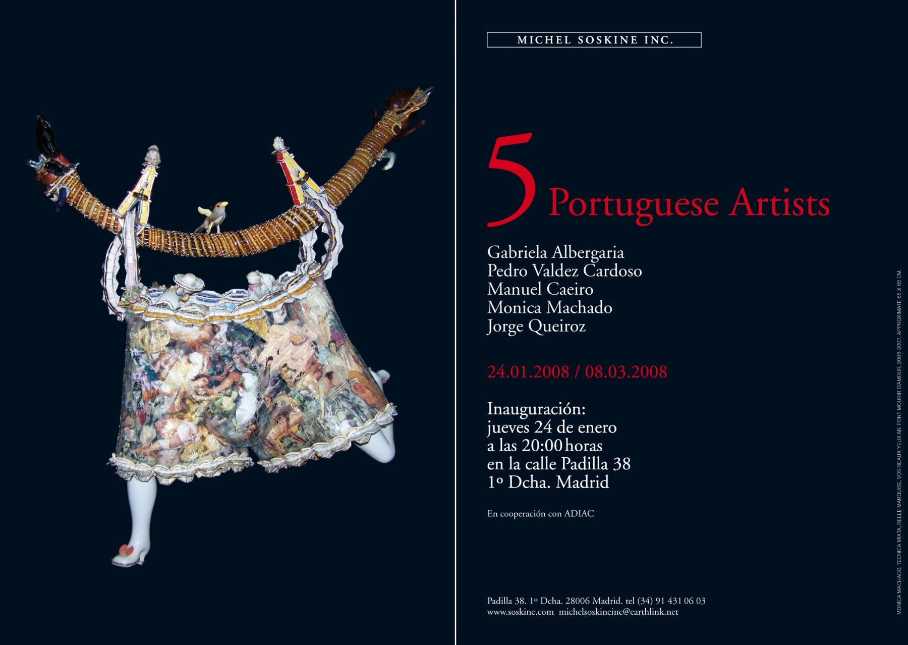 5 Portuguese Artists