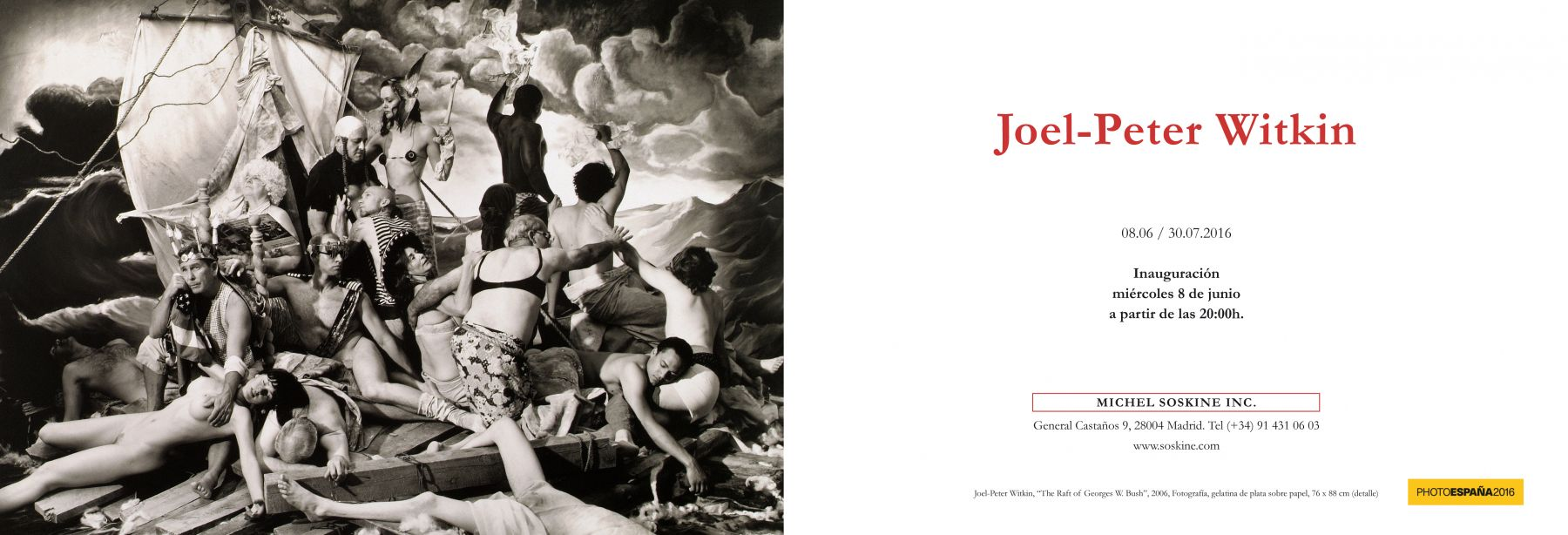 Joel-Peter Witkin, JUNE 8 – JULY 30, 2016