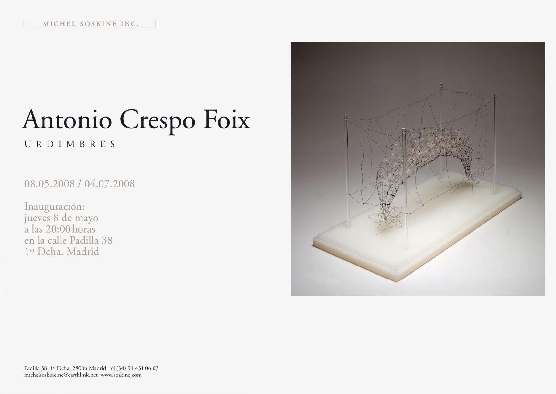 ANTONIO CRESPO FOIX