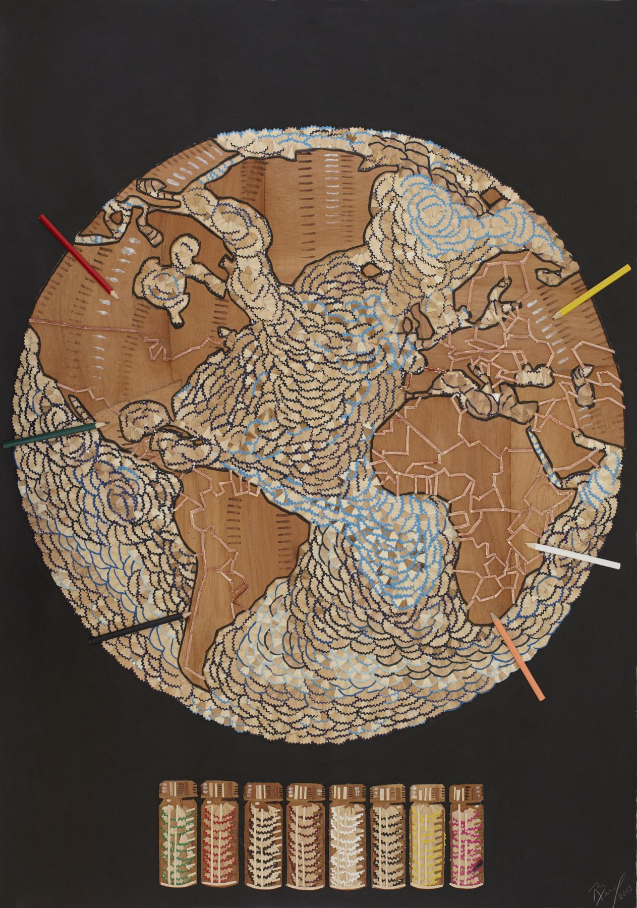 Abel Barroso, Colorea tu Mapa, 2013