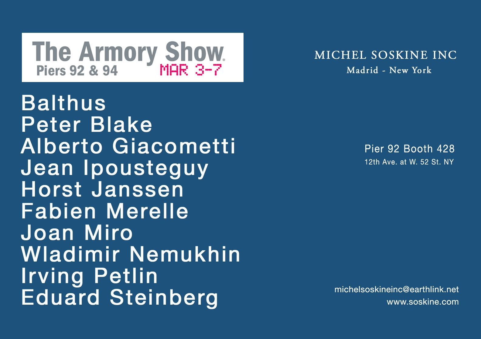 THE ARMORY SHOW- New York