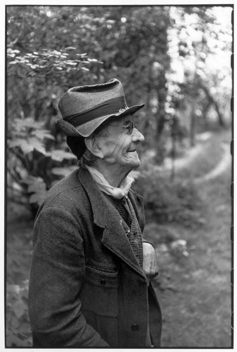Henri Cartier-Bresson, « Paul Léautaud, 1952 »