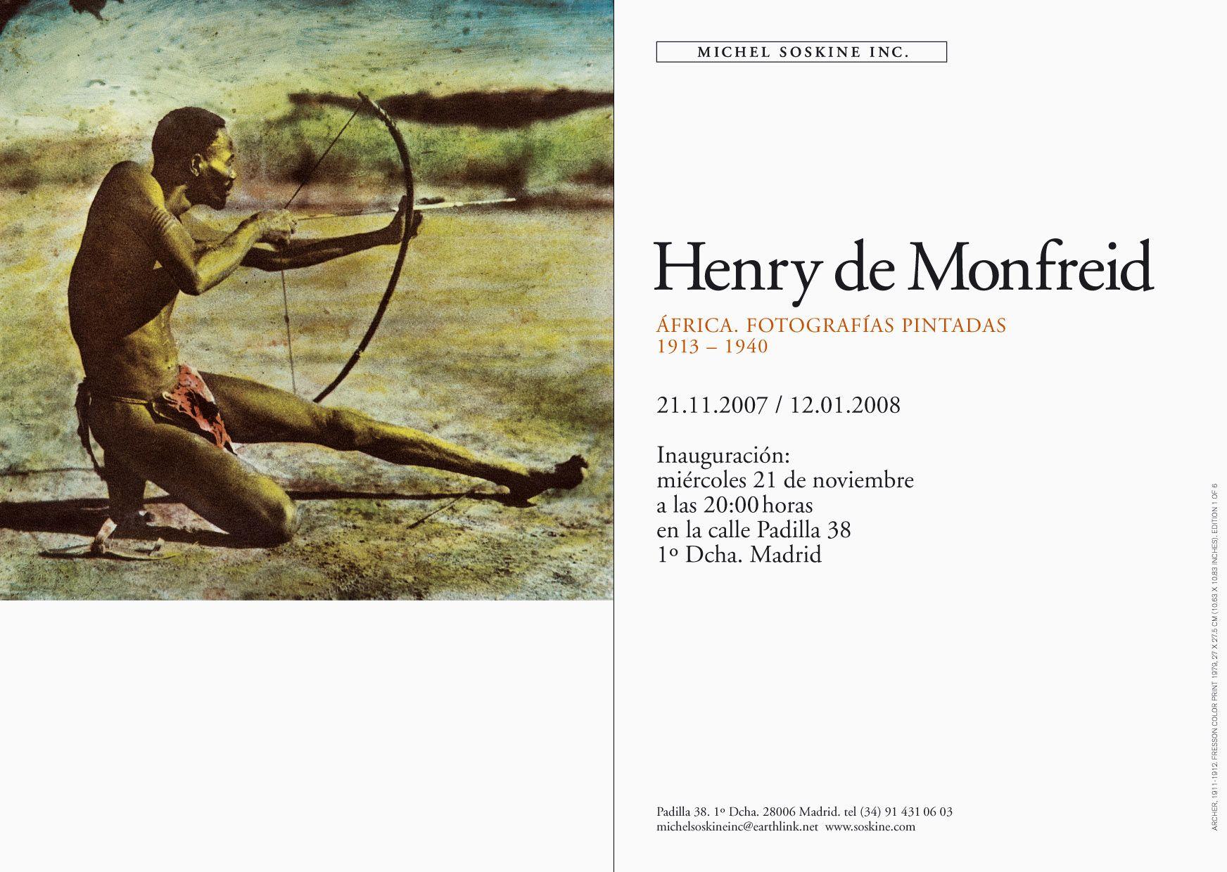 HENRY DE MONFREID