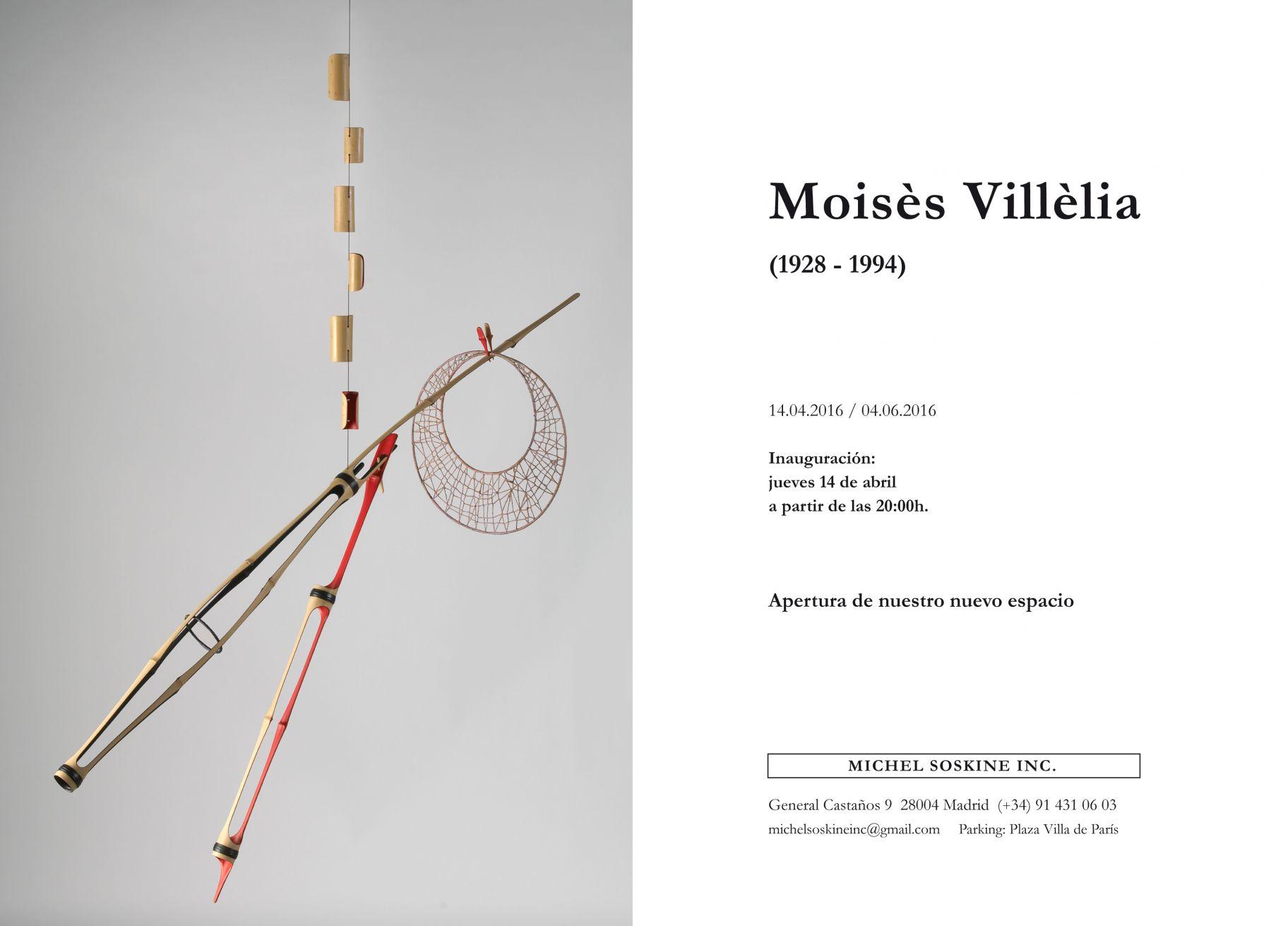 MOISÈS VILLÈLIA (1928 - 1994), Bamboo sculptures