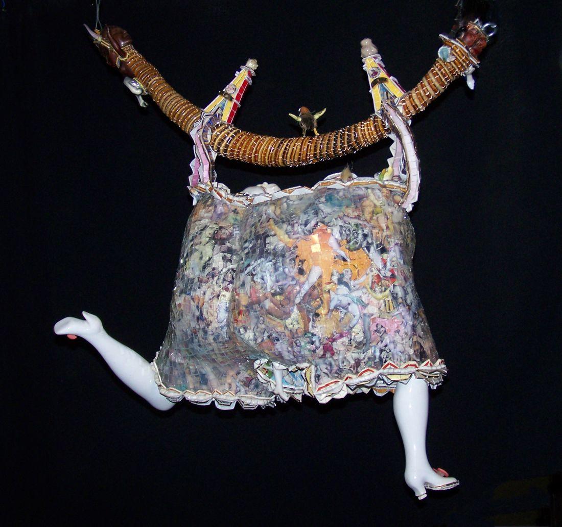Monica Machado, La corde à linge: Belle Marquise, vos beaux yeux me font mourir d'amour, 2006 -2007