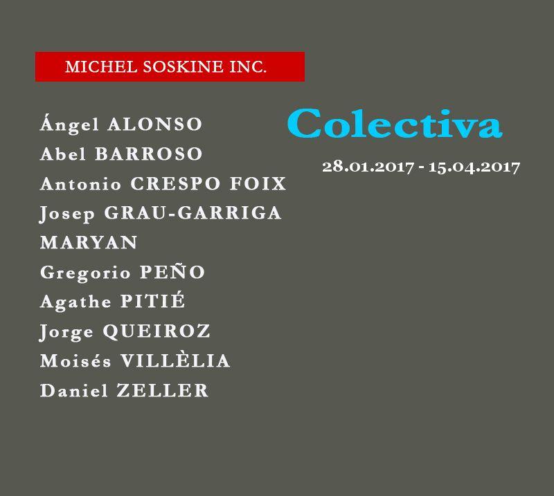 colectiva michel soskine 2017