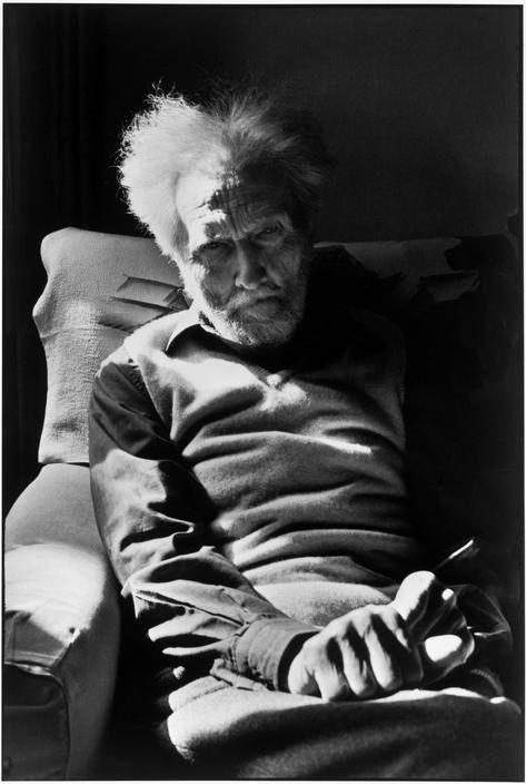 Henri Cartier-Bresson, « Ezra Pound, 1971 »