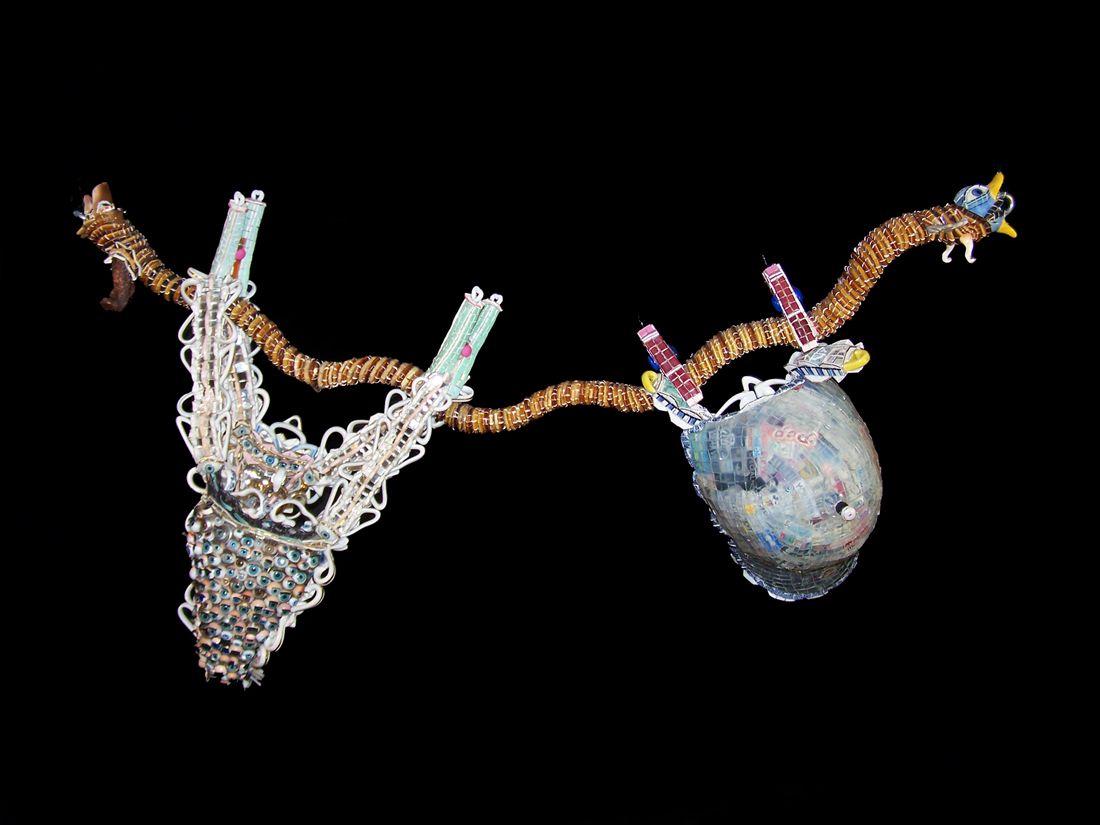 Monica Machado, La corde à linge: Tape à l'oeil & Image de Marque, 2006 -2007