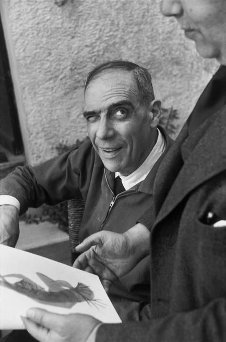Henri Cartier-Bresson, « Henri LAURENS, 1951 »