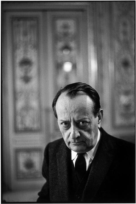 Henri Cartier-Bresson, « André Malraux, 1968 »